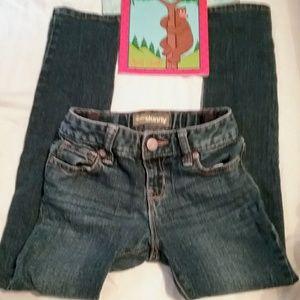Girls Old Navy 7 slim super skinny jeans